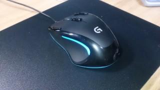 LogicoolのマウスG300Rが壊れたので修理出そうとしたらG300Sが来た。