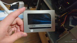 Crucial MX200 500GBモデルレビュー