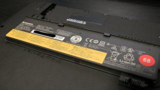 ThinkPadのバッテリーを注文してみた。