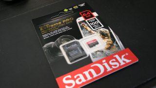 SanDisk Extreme Pro microSDXC V30&A1対応 64GB レビュー